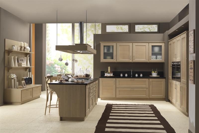 cucine moderne in legno naturale  canlic for ., Disegni interni