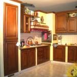 cucina in muratura I Girasoli
