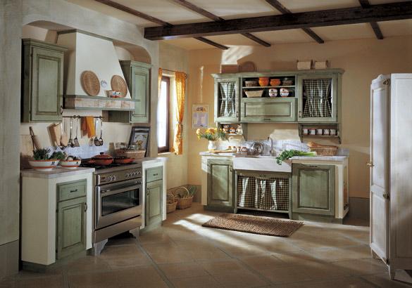 Cucina in muratura - Le Margherite -Garnero design