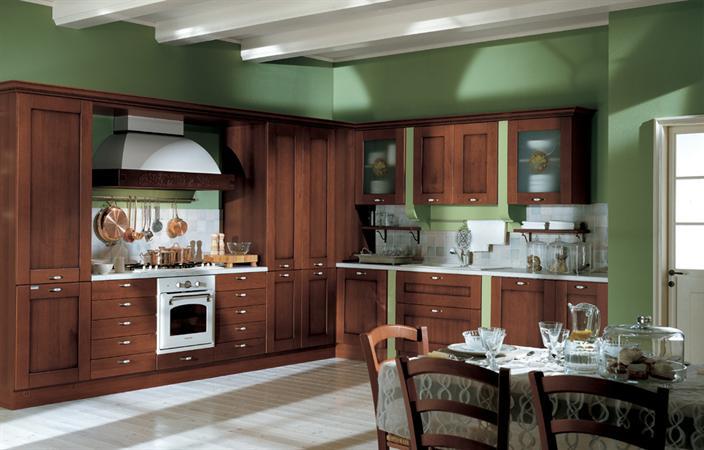 cucina classica legno
