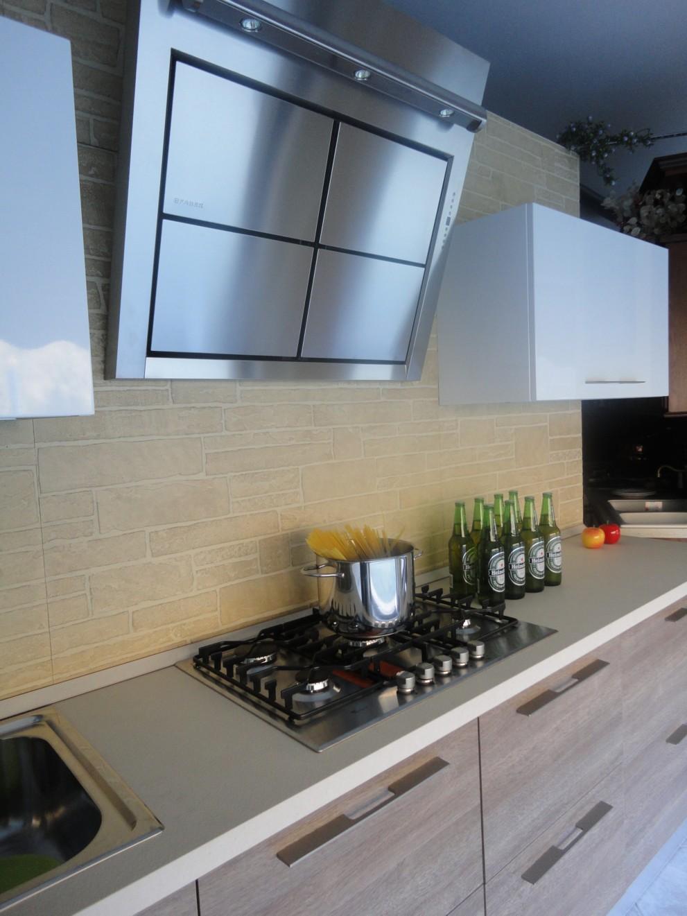 Disegno cucina moderna giugno 2015 : Outlet: cucina moderna sottocosto -Garnero design