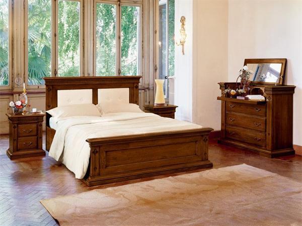 Camera classica legno massello