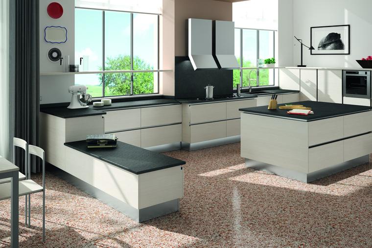 Cucina moderna con isola cooney garnero design for Isola cucina moderna