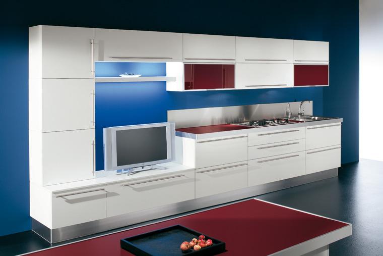 Cucina Moderna lineare \