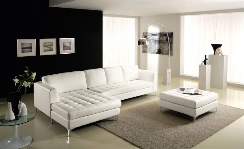 Salotto moderno con camino ad angolo idee per il design for Salotto ad angolo