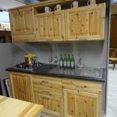 Outlet: Cucina in Pino sottocosto -Garnero design
