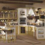 Cucina in muratura Pardigon