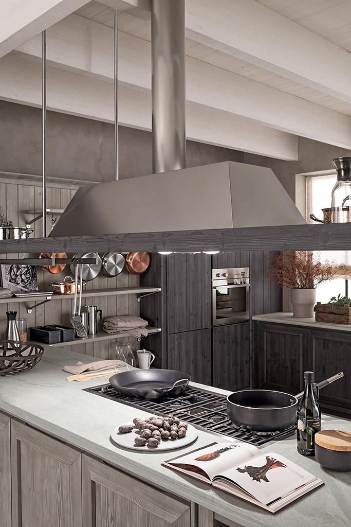 Cucina pachira garnero design - Cappe ad angolo per cucina ...