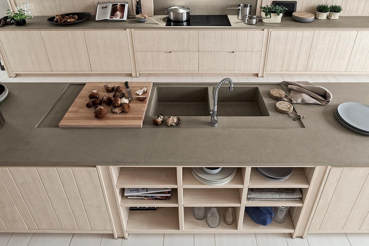 Cucina pimento garnero design - Altezza pensili cucina da top ...