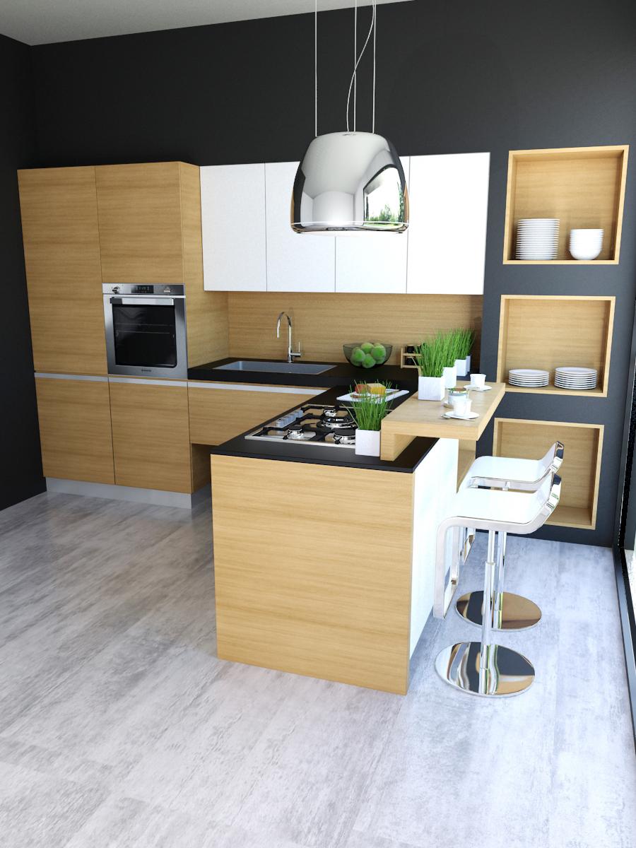 Cucina Design in Legno