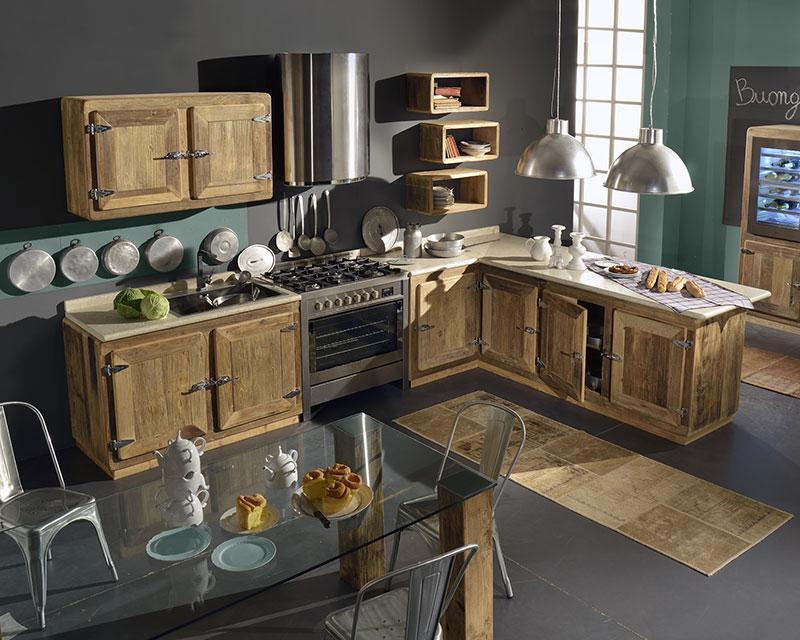 Cucina Montagna -Garnero design