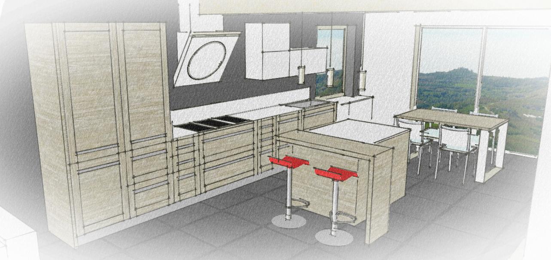 Cucine su misura garnero design - Liquidazione cucine ...