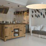 Cucina legno vecchio
