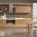 Cucina moderna legno naturale