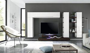 pareti attrezzate tendenze 2018garnero design